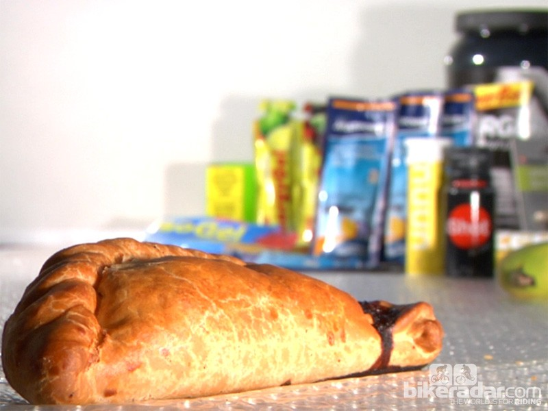 The pasty - the best energy food for cyclists