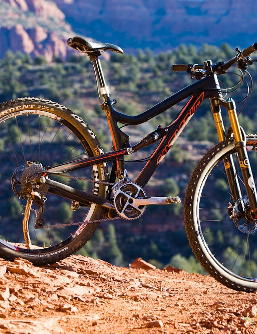 The carbon fibre Santa Cruz Tallboy LTc