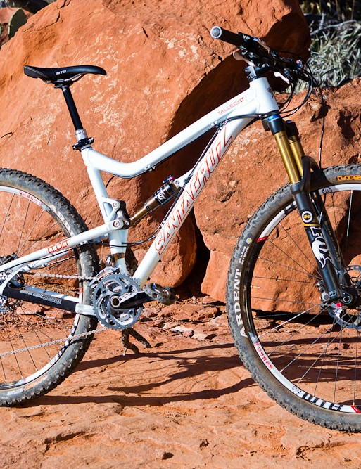 The Santa Cruz Tallboy LT is the LTc's alloy brother