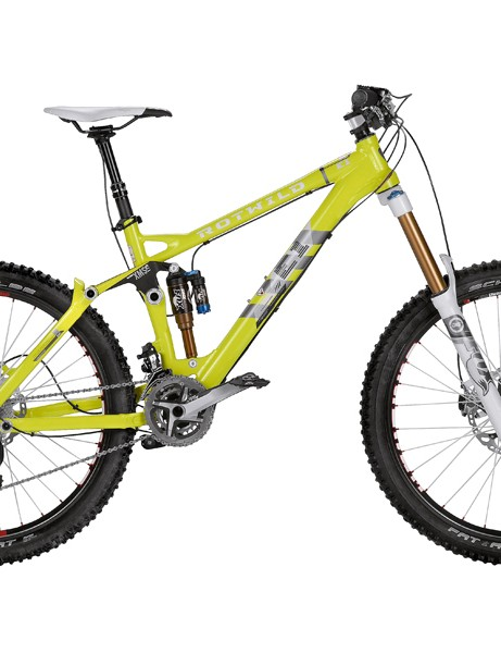 The R.E1 FS is Rotwild's 175mm-travel gravity enduro bike