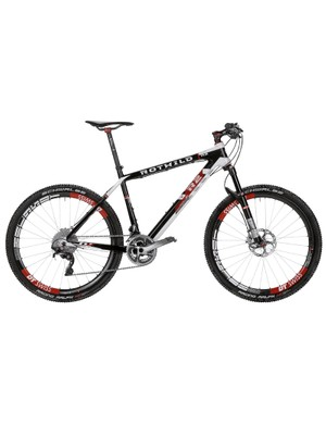 There are R series hardtails, too, with 110mm forks. This is the R.R2 HT World Cup, Cup £7,299