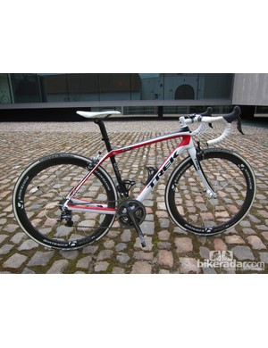 The new Trek Domane looks normal from afar but its ride quality is anything but