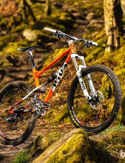 The Rocket shares its look with Cotic's steel hardtails
