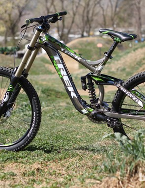 The 2012 Session 88 frame is the same design that started Aaron Gwin's 2011 World Cup reign