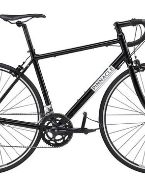 Pinnacle's aluminium road bike range starts with this Dolomite One model at £500 and ends with the £900 Dolomite Four. The entry-model features a compact Shimano 2300 groupset