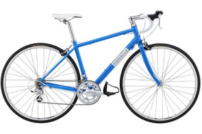 The Gabbro One women's road bike (£500) uses a tweaked version of the Dolomite geometry for 2012 that's said to improve comfort and performance. It comes with a compact chainset and 12-25t cassette