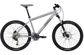 The Iroko One (£949.99) mountain bike features a 120mm-travel RockShox Recon Gold suspension fork, Shimano SLX shifters and Deore groupset