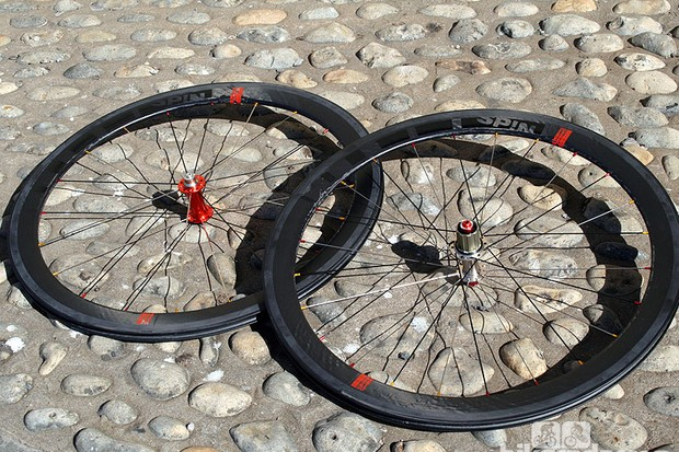 Spin Supersonic SSC50 carbon clinchers