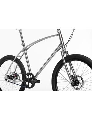 Small wheels designate No.4 as Budnitz travel bike