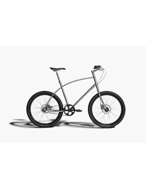 All of Budnitz bikes feature the split-tube cantilevered top tube