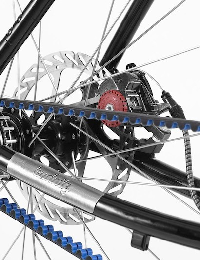 All of the bikes rely on the belt drive as well