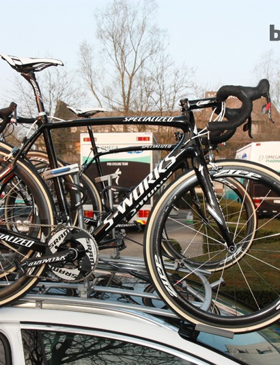 Tom Boonen (Omega Pharma-QuickStep) will race on Specialized's new S-Works Roubaix (SL4) at this Sunday's Paris-Roubaix