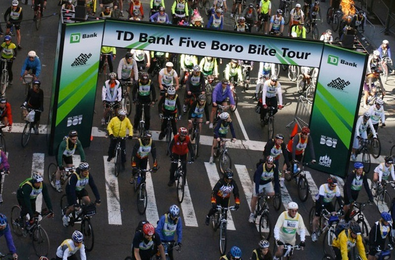 The 2012 Tour will accommodate 32,000 riders