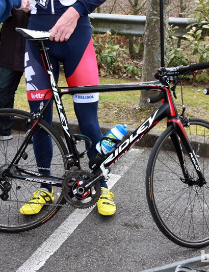 Lotto-Belisol will use Ridley Helium frames for Paris-Roubaix instead of their more aerodynamic — but much rougher riding — Noah chassis