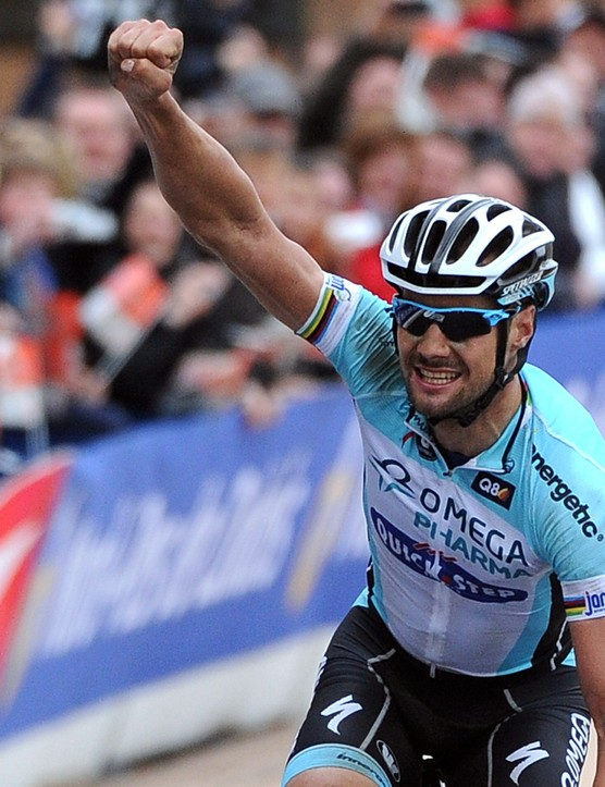 Boonen's imperious form continued in the 'Hell of the North'