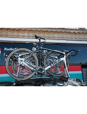 All of Radioshack-Nissan-Trek - including team leader Gregory Rast - raced on Trek's new Domane at Paris-Roubaix.