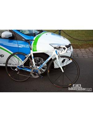 NetApp riders used these Simplon Pavo machines at Paris-Roubaix.