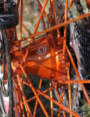 We were impressed how Industry Nine's wheels performed on the trail, though we wished for wider rims