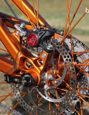 Another look at the rear dropout. Turner use RockShox's Maxle-Lite through-axle