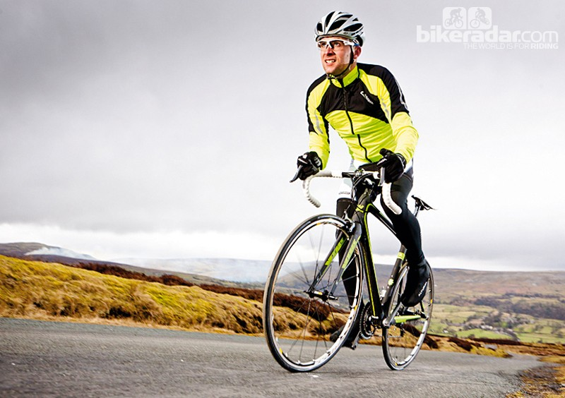 The Vitus is very comfortable despite its pro ride position
