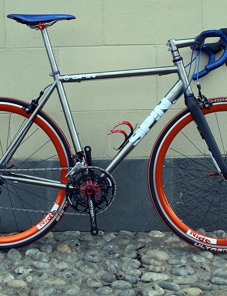 Slacker head and seat tube angles are the order of the day on the updated Spin MK IIA