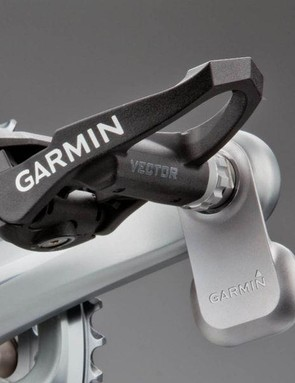 The Garmin Vector pedal based power meter