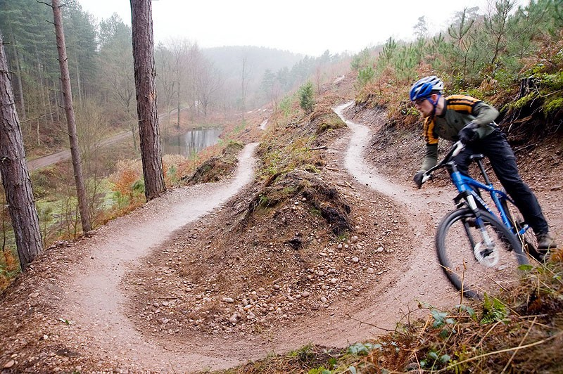 The gravel and sand donation will come in very handy for Cannock Forest's trails - now they just need people to shift it
