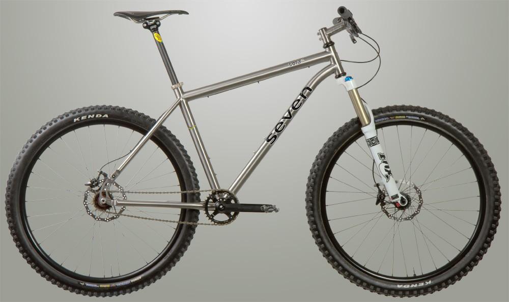 Seven's 650b singlespeed mountain bike