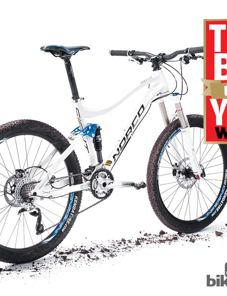 The Norco Sight 2 was also crowned What Mountain Bike's Trail Bike of the Year for 2012