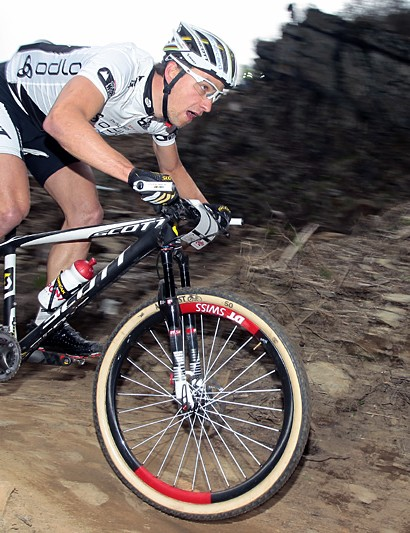 Nino Schurter (Scott - Swisspower MTB Racing Team) had to settle for second today