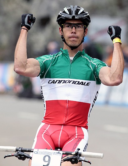 Marco Aurelio Fontana (Cannondale Factory Racing) finished third