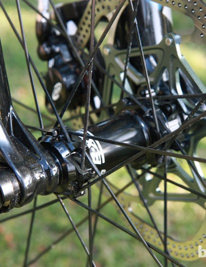 Giant are big proponents of 15mm through-axle dropouts for all of the Anthem X Advanced 29ers