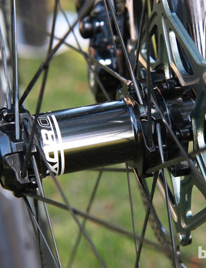 Giant's new P-XCR Composite 29er 0 carbon wheels will come standard with a 15mm through-axle hub