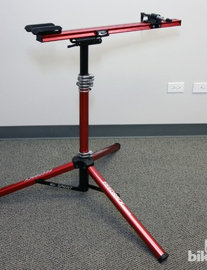 Feedback Sports have introduced a new Euro-style Sprint repair stand. This style of repair stand has long been favored by professional road mechanics for its greater stability and ease of access to both sides of the bike