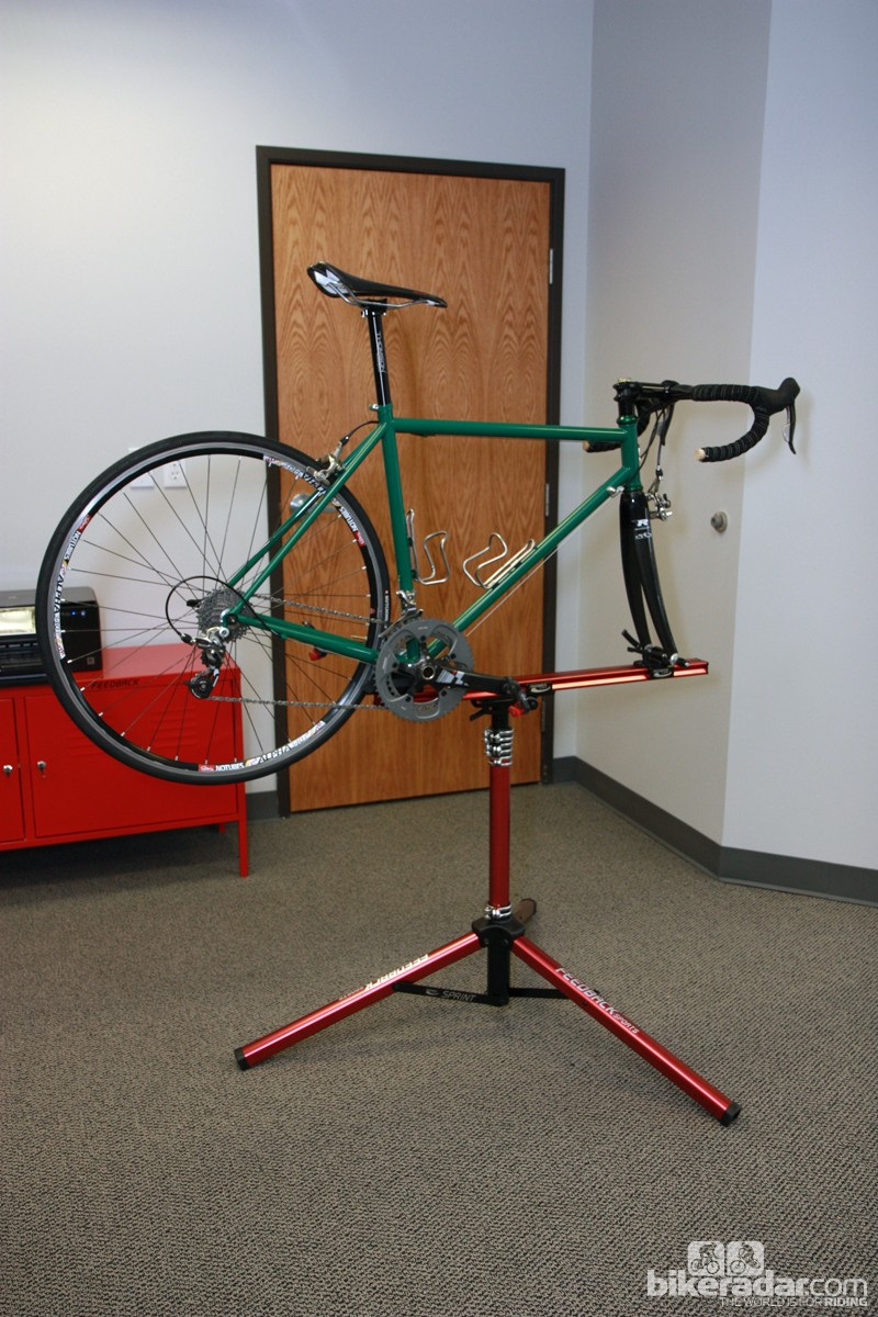 Feedback Sports say their new Sprint repair stand should be available from June