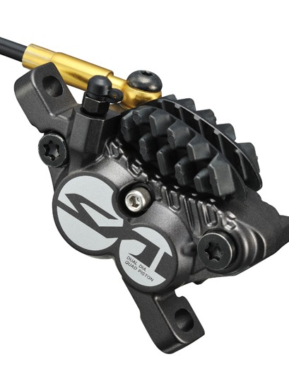 This is how the new Shimano Saint M820 brake calliper will look when it reaches the shops...