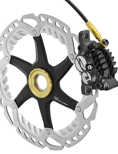 Shimano Saint BR-M820 calliper with RT99 rotor