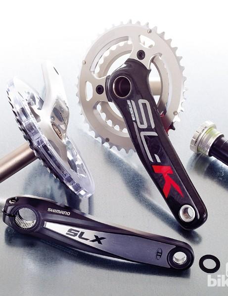 Best double cranksets for mountain bikes