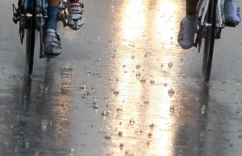Even if the weather's horrid, you need to get out on those long training rides