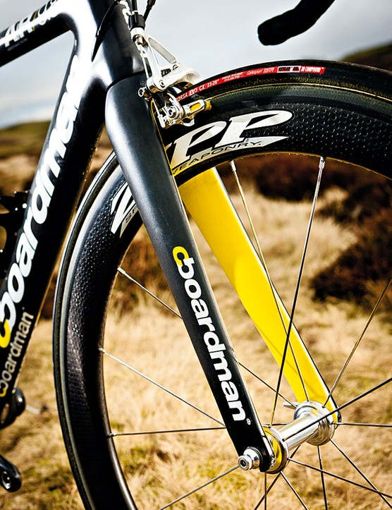 Zipp 404 Firecrest tubs are super-light and handle beautifully