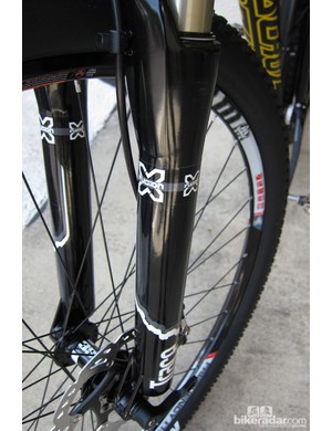 The 34mm stanchioned 29in Trace fork offers all of X-Fusion's new 2013 features