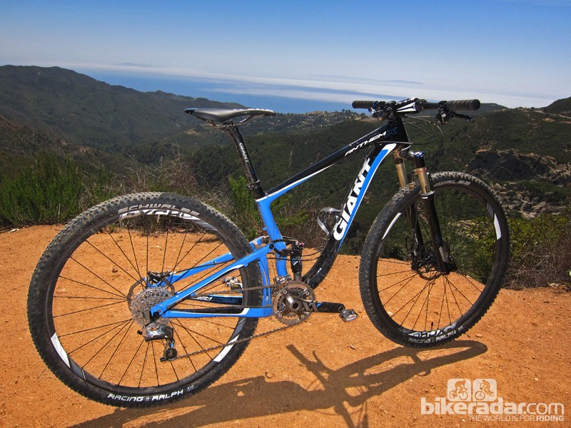 We tested the new Giant Anthem X Advanced 29er 0 across 27 miles and more than 4,000ft of climbing on southern California's famous Backbone trail