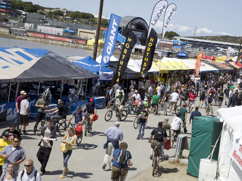 Scores of companies will be lined up to show off their finest wares to riders and the media at this year's Sea Otter Classic