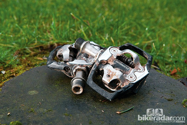 Shimano XT M785 trail pedals