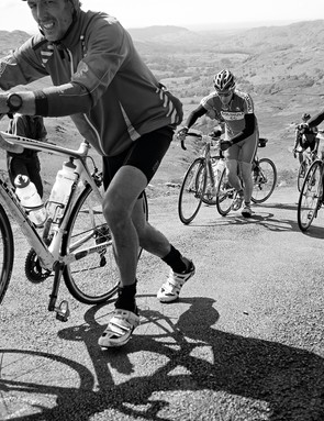 Try telling these Fred Whitton riders they were lucky to get entry last year