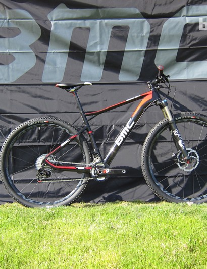 The TE01 29 combines geometry influenced by BMC's cross-country racers and TCC technology born on the road