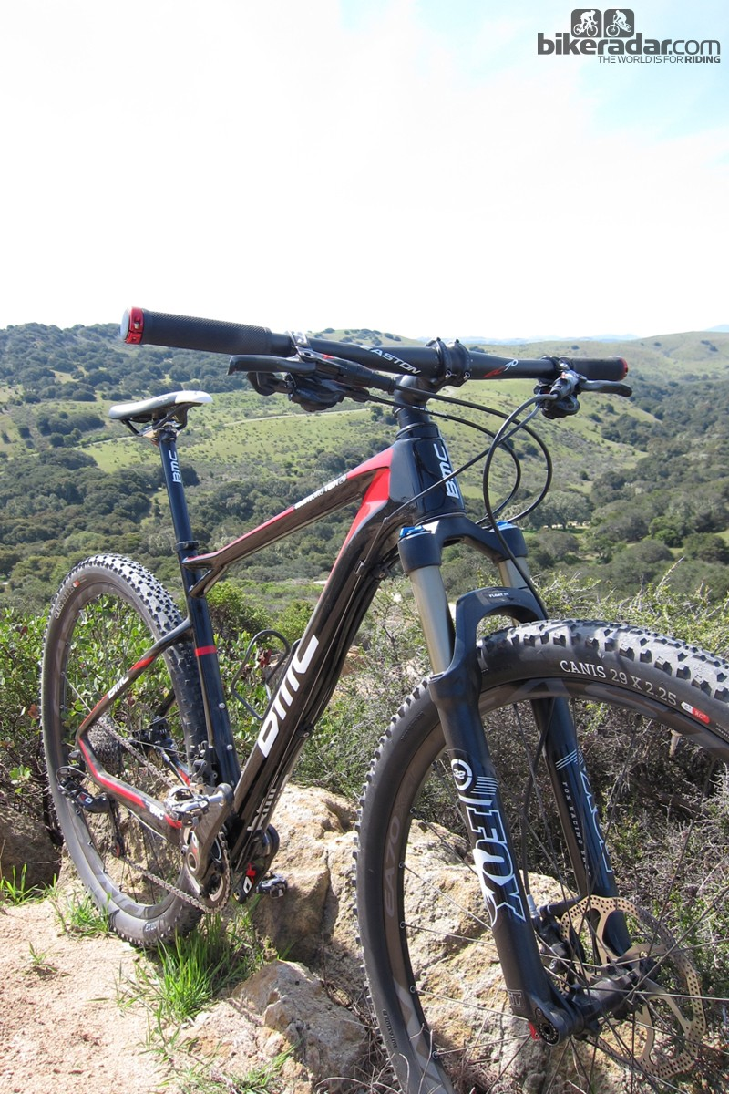 During our first outing, the TE01 29 ate up the rolling hills surrounding the Laguna Seca raceway