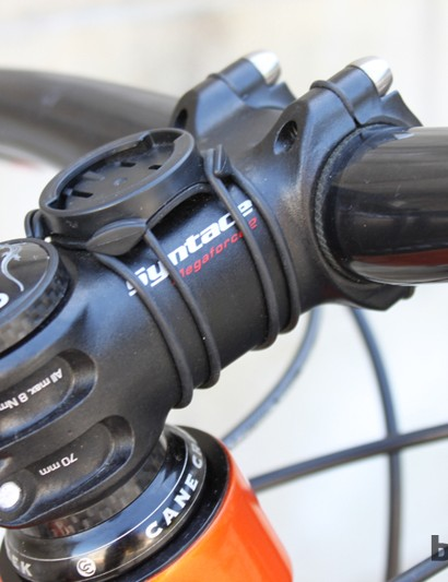 Syntace's Megaforce stem in a 70mm length