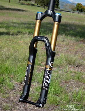 FOX expand their range of 34mm-diameter forks to both 26in and 650B wheel sizes for 2013
