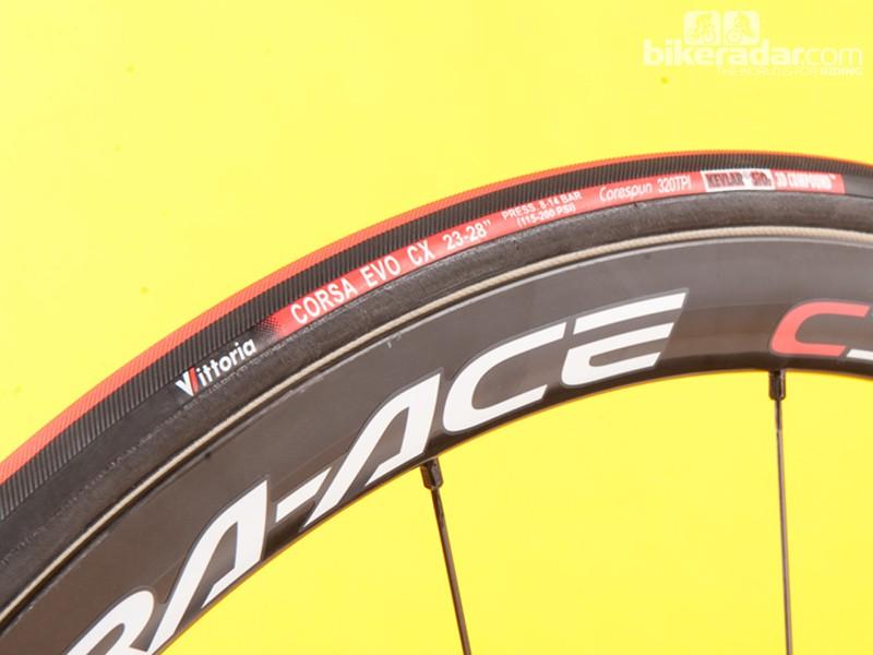 Vittoria Corsa Evo CX tubular tyre